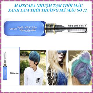 Mascara nhuộm tóc tạm thời OHICO màu xanh da trời 10ml chai - MS 12 - Mascara mauxanhdatroi thumbnail