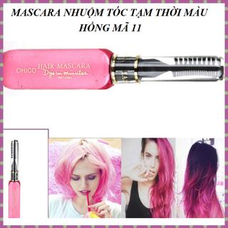 Mascara nhuộm tóc tạm thời OHICO 10ml chai màu hồng - MS 11 - Mascara mauhong thumbnail