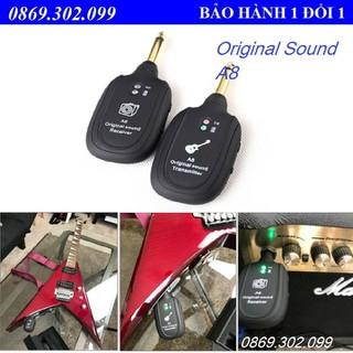 Bộ thiết bị thu phát âm thanh không dây cho Guitar A8 - Original Sound A8 - Transmiter - Guitar A8 thumbnail