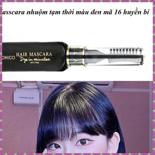 [Rẻ vô địch] Mascara nhuộm tóc tạm thời OHICO màu đen 10ml chai - MS16 - Mascara black thumbnail