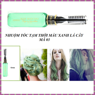 Nhuộm tóc tạm thời OHICO 10ml dạng mascara màu xanh lá cây - MS 03 - Mascara xanhlacay thumbnail