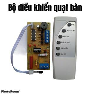 Bộ vỉ mạch điều khiển từ xa cho quạt, điều khiển bằng tiếng Việt, dễ lắp đặt và dễ sử dụng - mạch quạt bàn từ xa thumbnail