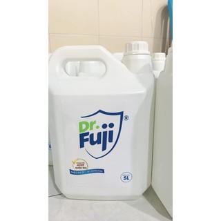 Nước Diệt khuẩn DR.fuji-diệt 99,9% vi khuẩn can 5L,nước diệt khuẩn, nước rửa rau quả - aw12 thumbnail