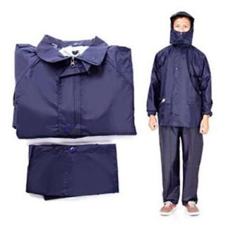 Áo mưa bộ màu xanh đen - aomuaboxanh thumbnail
