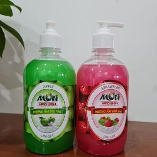 Nước rửa tay Mori hương táo hương dâu, chai 500ml - Rửa tay MORI thumbnail