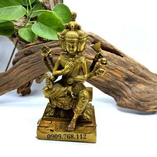 Tượng Đồng Thần Tứ Diện cao 15cm - 6517_46362642 thumbnail
