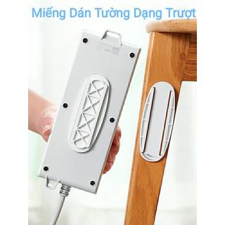 Miếng dán tường dạng trượt thanh cài đa năng có thể tháo rời dễ dàng dùng để treo các loại remote, ổ điện, dụng cụ gia đình - miếng dán trượt thumbnail