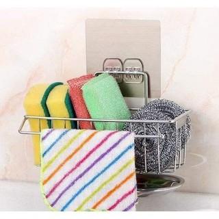 Giá để giẻ rửa bát có khay hứng nước - 1519_46396399 thumbnail