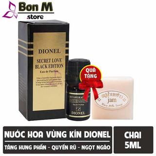 Nước hoa vùng kín Dionel Secret Love Black Edition 5ml - BM0015 thumbnail