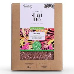 Gạo Hữu Cơ - Gạo LỨT ĐỎ 1kg - Nàng MEKONG - 100% Organic