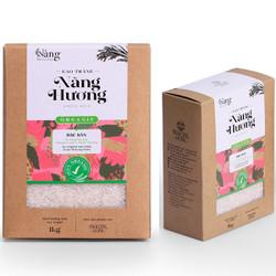 Gạo Hữu Cơ - TRẮNG Nàng Hương 2kg - Nàng MEKONG - 100% Organic