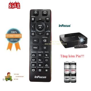 Remote Điều khiển máy chiếu InFocus- Hàng chính hãng mới 100% Tặng kèm Pin - Remote Điều khiển máy chiếu InFocus thumbnail