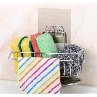 Giá để giẻ rửa bát có khay hứng nước - 1519_46662790 thumbnail