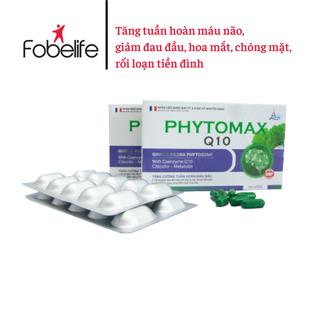 Viên uống giúp ngủ ngon, sâu giấc, tăng cường tuần hoàn máu não- PHYTOMAX Q10- Hộp 30 viên nang. - TPPX0001 thumbnail