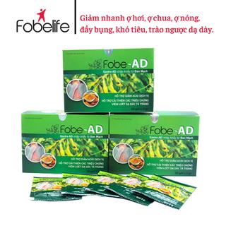 FobeAD-Giảm nhanh trào ngược dạ dày, ợ hơi, ợ chua, viêm loét dạ dày- Hộp 20 gói. - TPFD0001 thumbnail