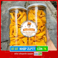[Nhập ZLP77 - Chỉ còn 7k] - Lon lớn Mít Thái sấy cao cấp loại 1 - Hiệu Mai Quỳnh Food - 250g - Date mới