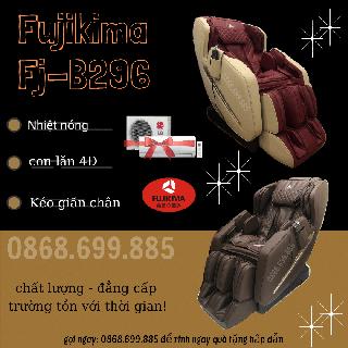 [NHẬN QUÀ 20 TRIỆU ĐỒNG] - FUJIKIMA B296 - GIẢM GIÁ SỐC 75% trên 1 ghế massage - Gọi ngay 0868.699.885 nhận ngay nhiều ƯU ĐÃI LỚN - Fujikima b296 thumbnail