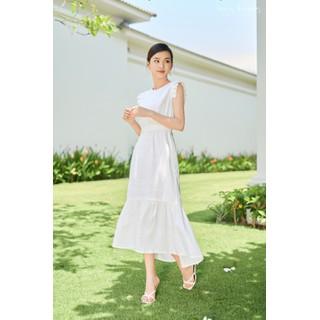 Đầm Maxi Nữ LEOS WEARING Đầm Đuôi Cá Linen Cổ Tròn Premium - A71 - A71 thumbnail