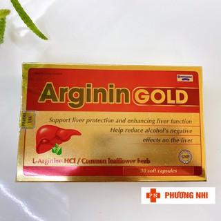 [CHÍNH HÃNG] ARGININ GOLD - SẢN PHẨM HỖ TRỢ GIẢI ĐỘC GAN, HẠ MEN GAN - SP000122 thumbnail