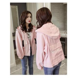 Áo khoác kaki nữ form rộng dài siêu xinh , bao đẹp hottrend cho các bạn trẻ - 667_46673494 thumbnail