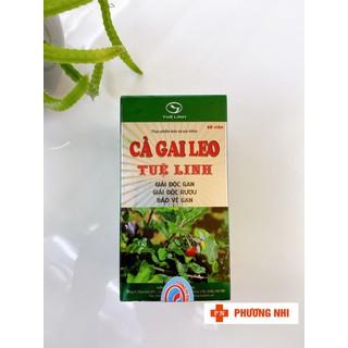 [CHÍNH HÃNG] CÀ GAI LEO - SẢN PHẨM GIẢI ĐỘC GAN, HẠ MEN GAN - SP000634 thumbnail