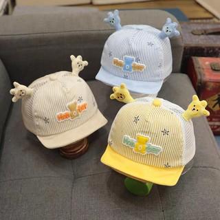 Nón mũ lưỡi trai gắn sừng Monter phối lưới siêu đẹp cho bé - ND017 thumbnail