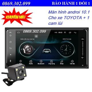 (Hỗ Trợ Tiếng Việt) Màn Hình Android 10.1 Cảm Ứng 7 Inch Bluetooth GPS Wifi Dành Cho Xe Toyota+ 1 Camera lùi - Android 10.1-2 thumbnail