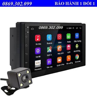 Màn Hình Cảm Ứng LCD 7 inch Hỗ Trợ Nghe Nhạc MP5 Bluetooth Wifi GPS Android 9.1 (Hỗ trợ Tiếng Việt) - Android 9.1-2 thumbnail