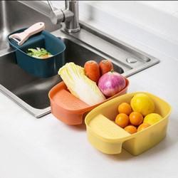 (Cóvideo review sản phẩm)Rổ Lọc Rác Bồn Rửa Chén Bát Bằng Nhựa Cao Cấp - Rổ Đựng Đồ Đa Năng - Đồ dùng nhà bếp thông minh