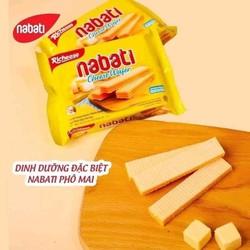 Combo 1 bịch 10 gói bánh NABATI loại 20g x 10 gói (Date T5 /2022)