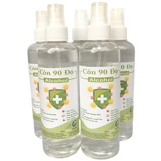 [Vòi xịt] Chai 250ml cồn y tế 90 độ dùng sát khuẩn, rửa tay - cồn 90 độ - 250ml thumbnail