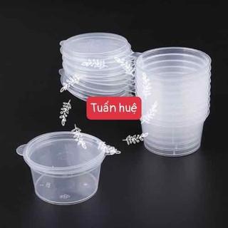 100 Hộp nhựa tròn liền nắp 3oz 80ml - AP003 thumbnail