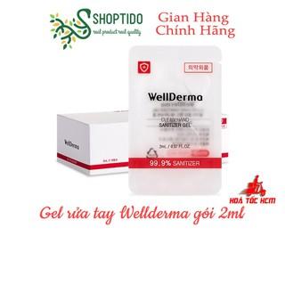 Gel Rửa Tay Wellderma Clean Hand Sanitizer Gel 2ml NPP Shoptido - 4077_46747847 thumbnail