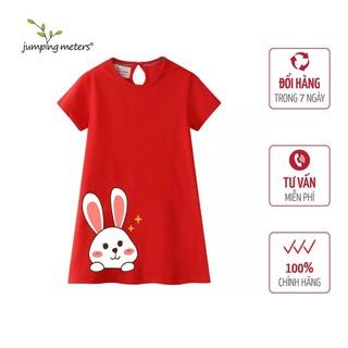 Váy bé gái hình thỏ trắng V1 Jumping Meters - 6384_46745167 thumbnail