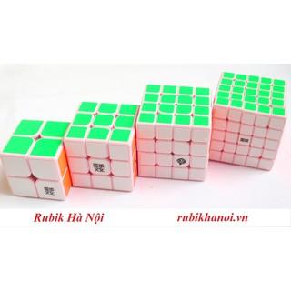 Rubik Combo 2 + 3 + 4 + 5 Moyu Pink Cao Cấp Phiên Bản Giới Hạn - 2726_46762338 thumbnail