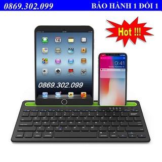 Bàn Phím Bluetooth Không Dây BK230 Kết Nối Với Điện Thoại - BK230 thumbnail