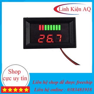Đồng hồ led đo dung lượng acquy 12v 60v Mạch đo dung lượng acquy , xe điện - 4051_46808860 thumbnail