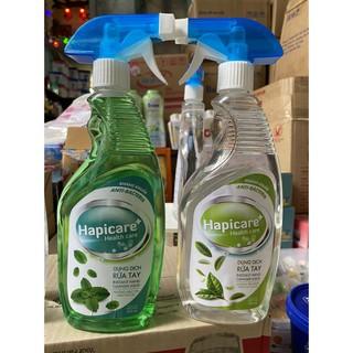 1 chai nước nước rửa tay hapicare - nước rửa tay 500ml thumbnail