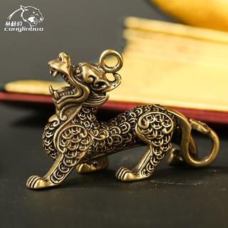 Tượng đồng mini phong thủy tỳ hưu trang trí nhà cửa - TTPKTuongDongMini_TiHuu thumbnail