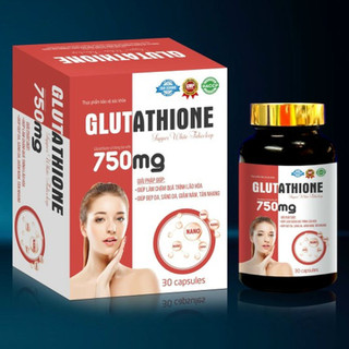 Viên Uống Trắng Da Glutathion 750mg- Giúp Trắng Da Toàn Thân, Mờ Thấm Nám, - Glutathion 750mg thumbnail