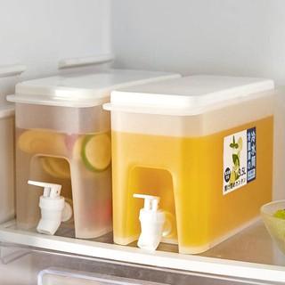 Bình nước để tủ lạnh 3,5L có vòi rót tiện lợi Bình đựng nước có vòi rót mẫu vuông - GDTI000713 thumbnail