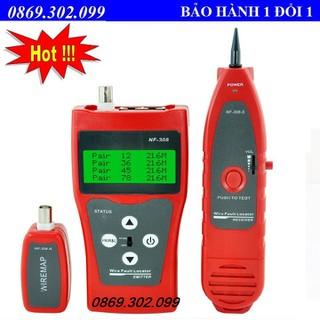 Máy test cáp mạng đa năng chính hãng Noyafa NF-308 - NF-308 thumbnail