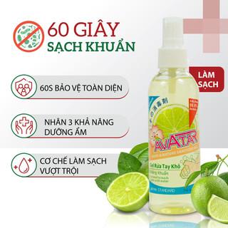 Xịt rửa tay diệt khuẩn hương chanh Avatar - CHANH-XIT100ML thumbnail
