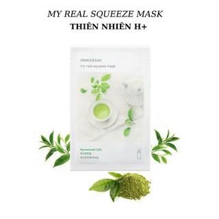 [Hàng Chính Hãng] MẶT NẠ GIẤY TRÀ XANH INNISFREE HÀN QUỐC 20ml My real squeeze mask - 0194 thumbnail