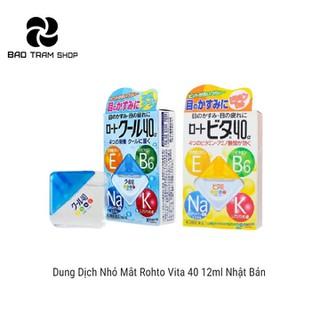 Dung dịch nhỏ mắt Rohto Vita 40 12ml Nhật Bản - DM05 1