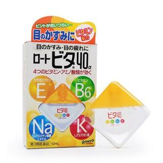 Dung dịch nhỏ mắt Rohto Vita 40 12ml Nhật Bản - DM05 2