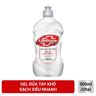 Nước rửa tay khô Lifebouy 500ml( chai vòi chai bật) - 8934868149521 5
