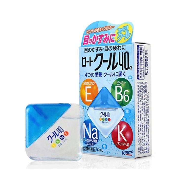 Dung dịch nhỏ mắt Rohto Vita 40 12ml Nhật Bản - DM05 3