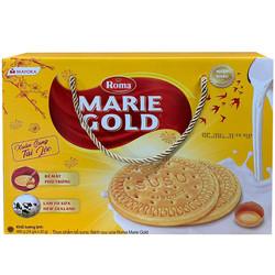HỘP BÁNH QUY TRỨNG SỮA MARIE GOLD 480G (24 GÓI) - HSD Tháng 10/2021