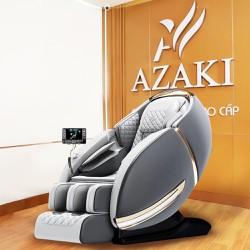 Ghế massage Azaki CS25 Plus phiên bản 2021 Full chức năng, massage không trọng lực Zero Gravity, kéo dãn toàn hiện đại